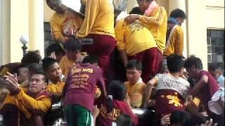 ang aking unang karanasan sa piling ni mahal na poong Nazareno - Jan 9 2012