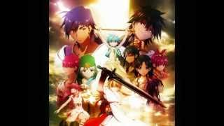 Magi the Labyrinth of Magic Opening 2 - Matataku Hoshi No Shita De