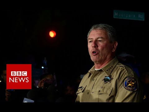 Thousand Oaks Gunman kills 12 in California bar BBC News