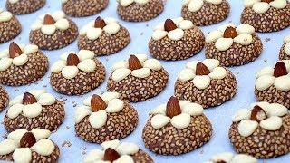 في دقائق قبل العيد حضري أروع حلوى من أسهل ما يكون بدون بيض بمكونات بسيطة متوفرة  مذاق ولا أروع