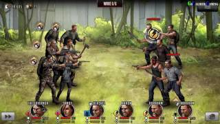Walking Dead Road To Survival Android iOS Walkthrough   Part 35   Northwest Woods Stages 1 3