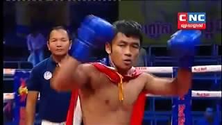 Thol Makara, Cambodia Vs Amotak, Thai, Khmer Boxing 13 october 2018