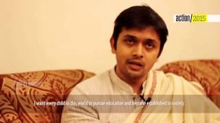 Message by Arifin Shuvo   Action 2015 Bangladesh