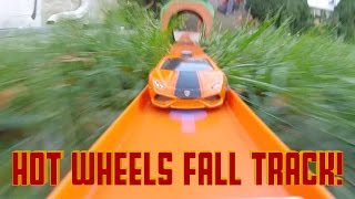 Hot Wheels Fall Track! (50,000 sub special!)