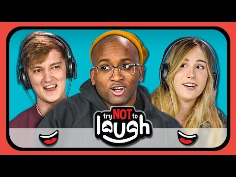 YouTubers React to Try to Watch This Without Laughing or Grinning 13