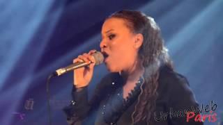 Milca lors du concert événement Les divas du zouk