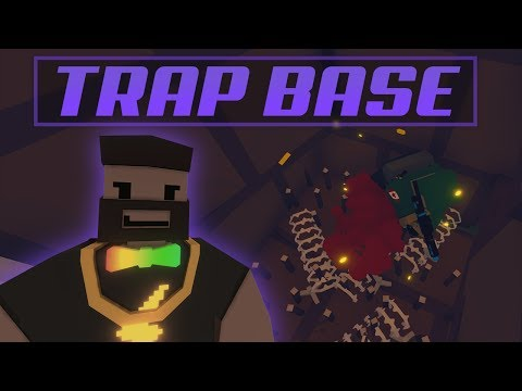 How to Make a Epic Death Trap Base - Quick and Easy Loot