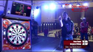 INTERNACIONAL WALDE 2015 - FINAL LIGA WALDE - CONNECTION DARTS ( LIVE )