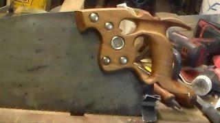 Replicating An Antique Handsaw Handle