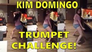 Kim Domingo - TRUMPET CHALLENGE!