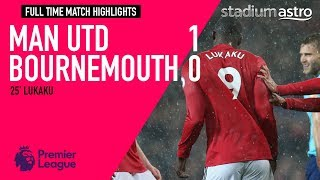 FT Manchester Utd 1 - 0 Bournemouth