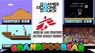 Super Mario Series Relay Race From SGDQ-2017 3 Teams, 15 Players, 5 Games, All For Charity!