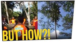Man Hides in Coconut Tree for 3 Years ft. Michael Rosenbaum & DavidSoComedy