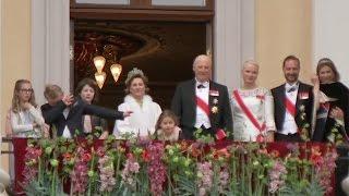 Norwegian prince shows off his royal dab move