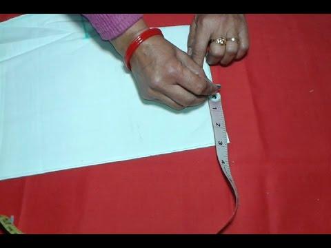 Ladies shirt cutting and stitching in hindi
