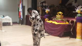 Apostle Kyande in seattle WA (Joy bringers ministry church)