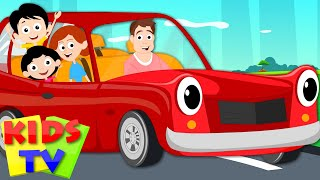 Daddy's New Car | Kids Tv Original Nursery Rhymes | Youtube rhymes | cartoon songs