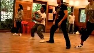 Hrithik Roshan dance practice with dharmesh sir..