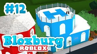 BUILDING A POLICE STATION - Roblox Welcome to Bloxburg #12