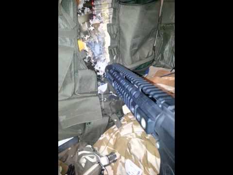 M4 cqb Noveske fire test