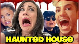 HAUNTED HOUSE WITH THE GRANDE