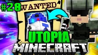 HAST DU IHN GESEHEN?! - Minecraft Utopia #028 [Deutsch/HD]