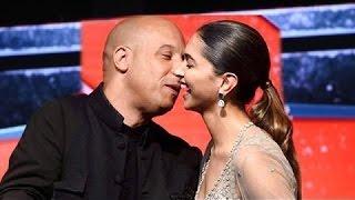 भरी महफ़िल में KISS कर दिया Vin Diesel ने Deepika Padukone को , देखिये Deepika ने किस तरह React किआ