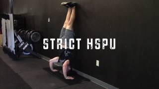 Handstand Push Up Progressions