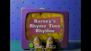 Barney's Rhyme Time Rhythm 2ND RELEASE PLAY ALONG
