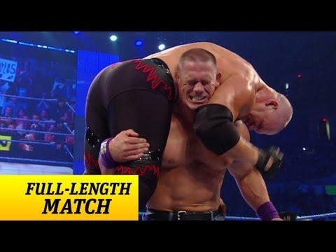 FULL LENGTH MATCH SmackDown John Cena vs. Kane Lumberjack Match