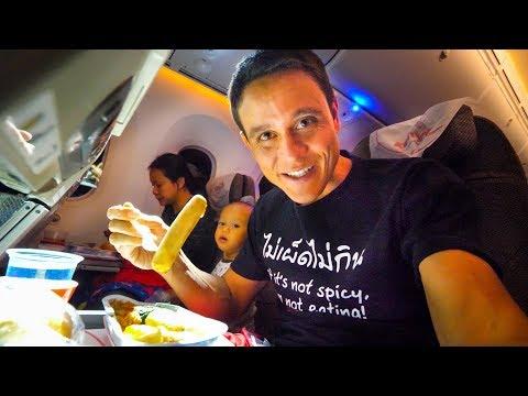 Kenya Airways FOOD REVIEW Bangkok to Nairobi to Accra Africa Travel Vlog