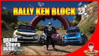 GTA V CarVlog Indonesia (5) - BALAP RALLY KEN BLOCK KUEREEN !!