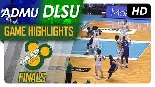 ADMU vs DLSU | Finals Game 2 Highlights | UAAP 80 Men's Basketball | November 29, 2017