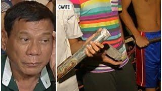 Exclusive | Mga gangster sa Cavite, handa raw magbago para kay Duterte