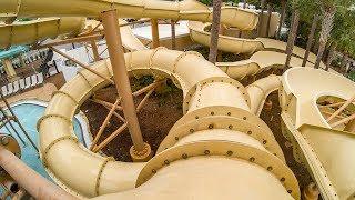 Cypress Springs at Gaylord Palms - Black Bear Blitz / Panther Plunge   Kids Slides