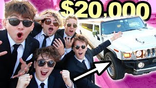 SPENDING $20,000 IN ONE DAY!! (SURPRISE)
