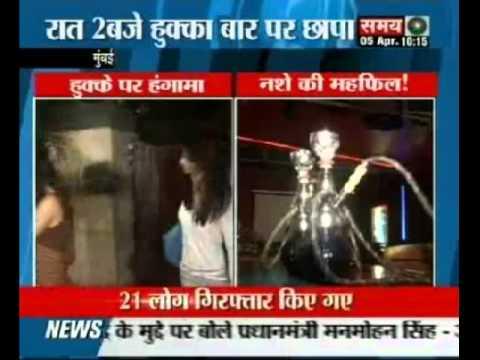 Famous TV actress caught in Hukka Bar in Mumbai