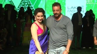 Sanjay Dutt Walks At Lakme Fashion Week 2016 Day 4 Full Show | Sunny Leone, Shraddha Kapoor