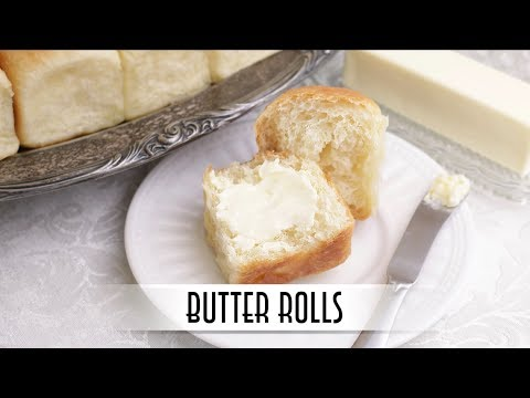 Butter Rolls No Knead Method for Soft Fluffy and Tender Rolls