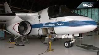 Scott Dixon tours the NASA Glenn Research Center