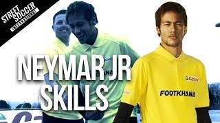 Neymar skills 2014 - Learn Football/soccer skills with Neymar & Cafu