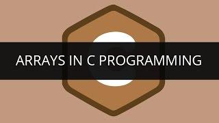 Understanding Arrays in C Programming | Edureka
