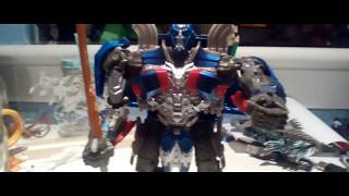 Transformers optimus prime stop motion trailer