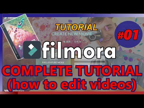 Xxx Mp4 HOW TO USE FILMORA Tutorial 01 Edit Videos For Youtube Complete Beginners 3gp Sex