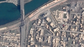 Satellite Imagery: The Islamic State Wreaks Havoc on Mosul