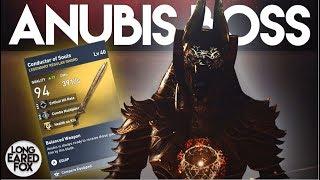 Assassin's Creed Origins   HOW TO EASILY DEFEAT ANUBIS BOSS + LEGENDARY SWORD! - Trial of The Gods