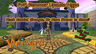Wizard101 PvP Summer Update Hype - Dream Changes or Drama Nightmare?