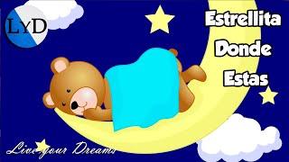 Estrellita Dónde Estás   Canción de Cuna Instrumental   Música Relajante Dormir Bebés Profundamente