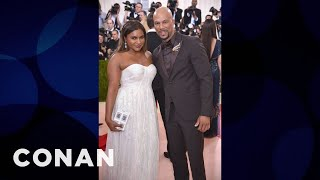 Mindy Kaling Wanted To Start A Rumor That She & Common Were A Couple  - CONAN on TBS