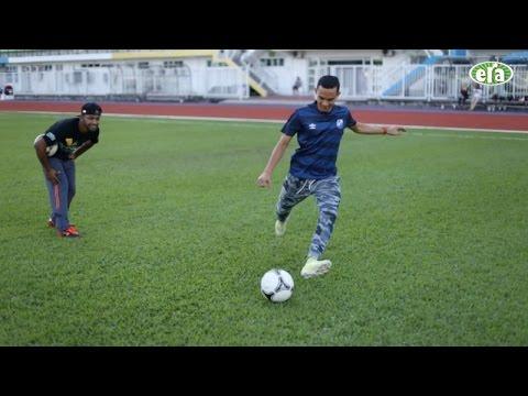 Tutorial Curve Shot Free-kick Bersama Faiz Subri